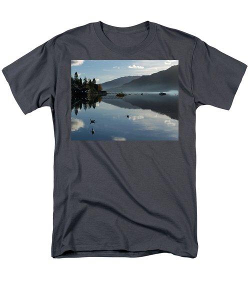 Men's T-Shirt  (Regular Fit) featuring the photograph Lochgoilhead by Lynn Bolt