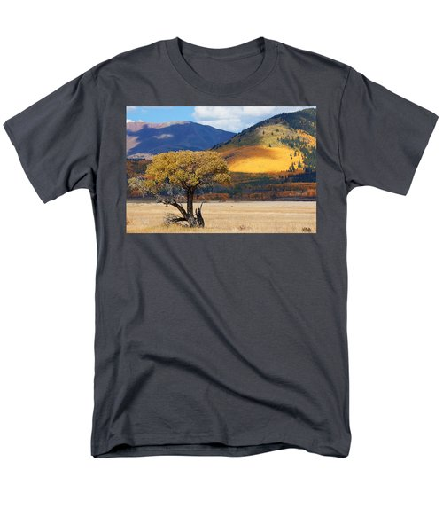 Men's T-Shirt  (Regular Fit) featuring the photograph Lone Tree by Jim Garrison