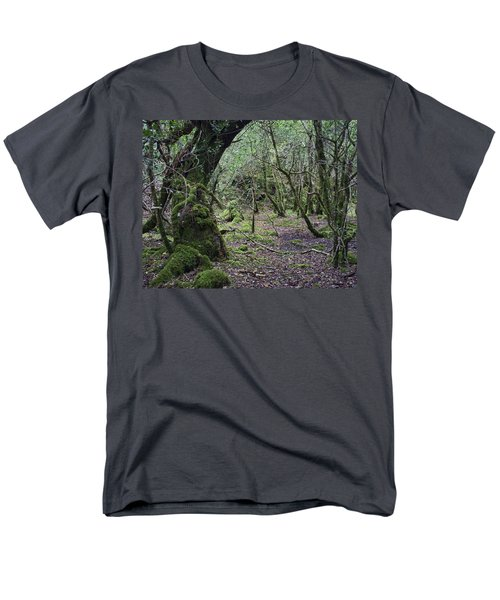Men's T-Shirt  (Regular Fit) featuring the photograph Magical Forest by Hugh Smith