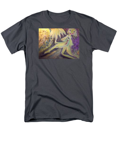 Man In The Moon Men's T-Shirt  (Regular Fit) by Judith Desrosiers