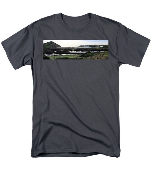 Men's T-Shirt  (Regular Fit) featuring the photograph Mediterranean View by Pedro Cardona