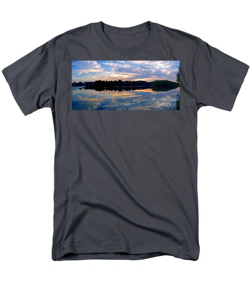 Mirror Mirror On The Water Men's T-Shirt  (Regular Fit) by Sue Stefanowicz