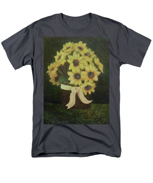 Mom's Bouquet Men's T-Shirt  (Regular Fit) by Christy Saunders Church
