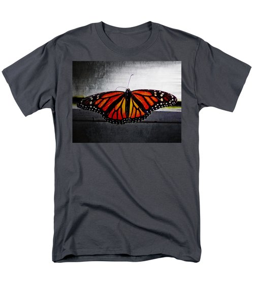 Men's T-Shirt  (Regular Fit) featuring the photograph Monarch by Julia Wilcox