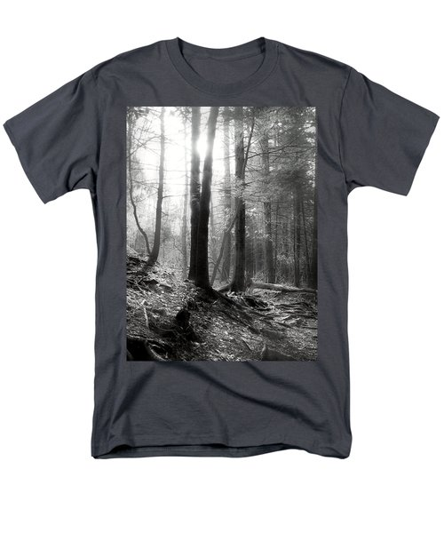Men's T-Shirt  (Regular Fit) featuring the photograph Morning Sun by Mary Almond