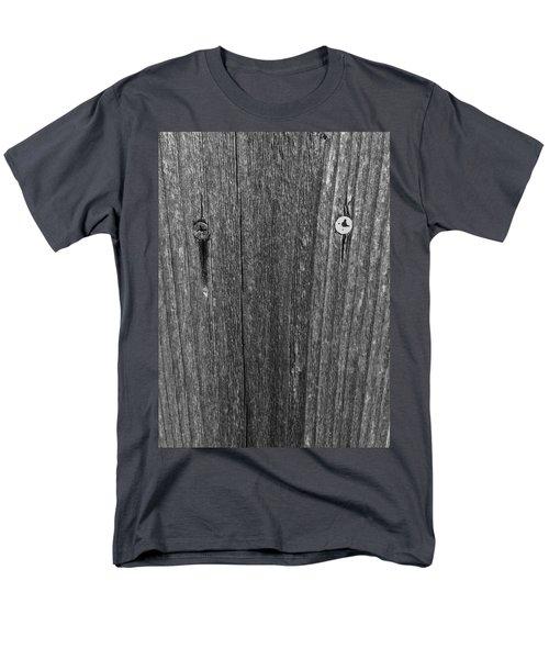 Men's T-Shirt  (Regular Fit) featuring the photograph My Fence by Bill Owen