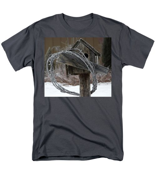 Nobody Home Men's T-Shirt  (Regular Fit) by Dorrene BrownButterfield