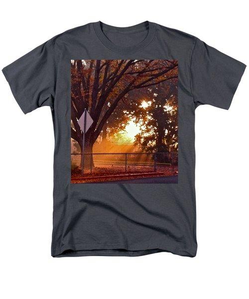 Men's T-Shirt  (Regular Fit) featuring the photograph November Sunrise by Bill Owen