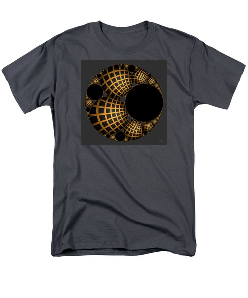 Men's T-Shirt  (Regular Fit) featuring the digital art Objects In Motion - Objects At Rest by Manny Lorenzo