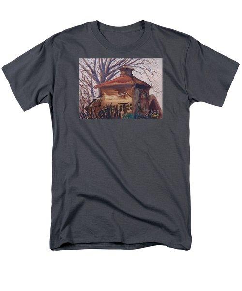 Old Garage Men's T-Shirt  (Regular Fit)