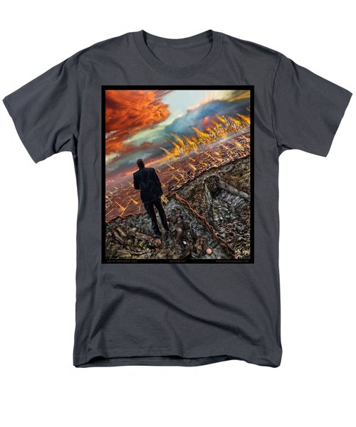 One Percent  Men's T-Shirt  (Regular Fit) by Tony Koehl