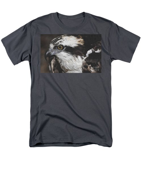Men's T-Shirt  (Regular Fit) featuring the photograph Osprey by Lydia Holly