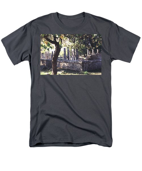 Men's T-Shirt  (Regular Fit) featuring the photograph Palestra Olympic Site Greece by Tom Wurl