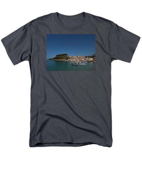 Parga  Men's T-Shirt  (Regular Fit) by Jouko Lehto