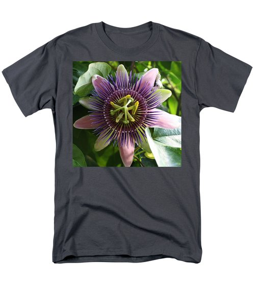 Men's T-Shirt  (Regular Fit) featuring the photograph Passion Flower 2 by Bruce Bley