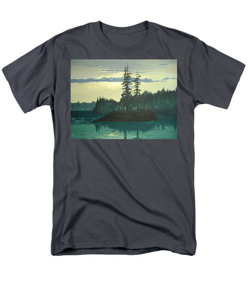 Peace And Quiet Men's T-Shirt  (Regular Fit) by Norm Starks