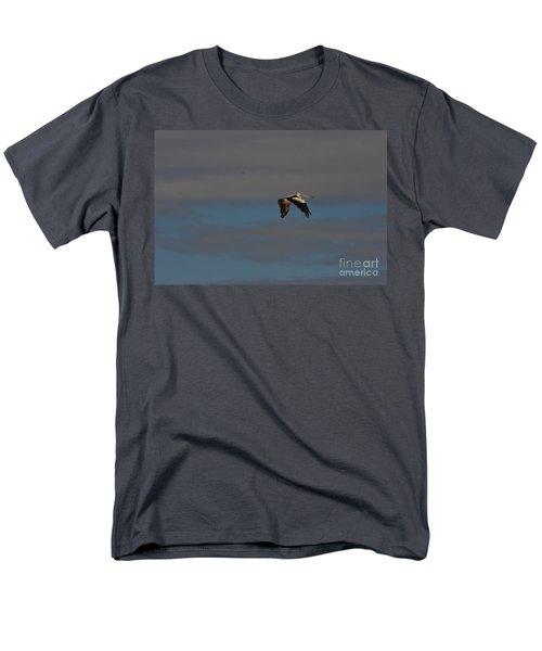Men's T-Shirt  (Regular Fit) featuring the photograph Pelican In Flight 4 by Blair Stuart