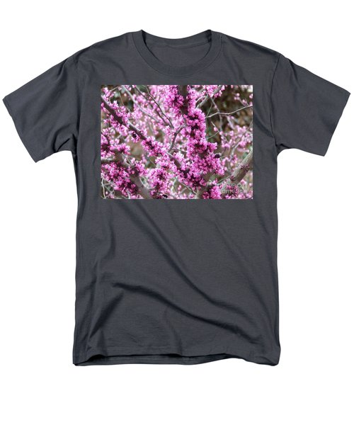 Pink Flower Men's T-Shirt  (Regular Fit) by Andrea Anderegg