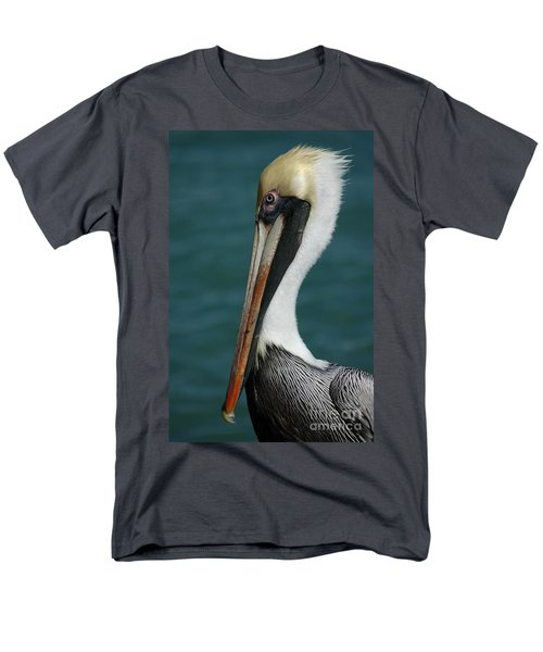Men's T-Shirt  (Regular Fit) featuring the photograph Posing For The Tourists by Vivian Christopher