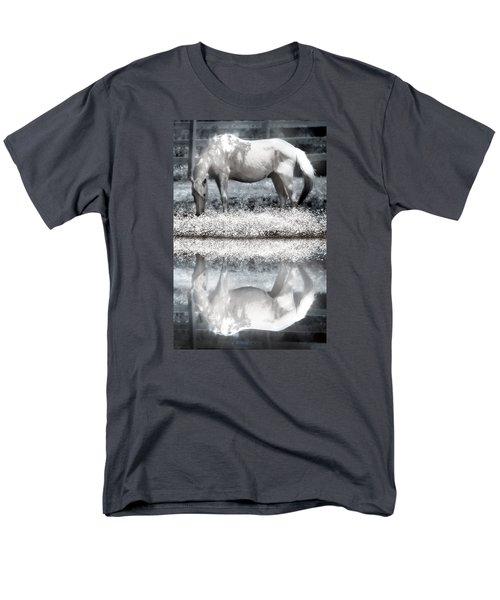 Men's T-Shirt  (Regular Fit) featuring the digital art Reflecting Dreams by Mary Almond