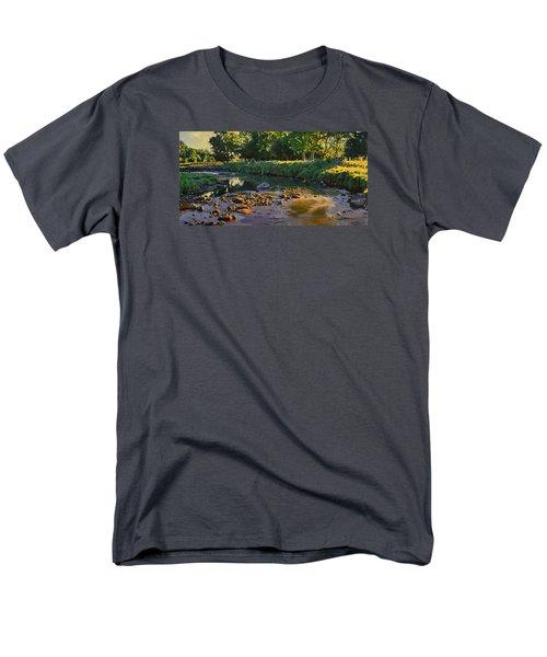 Riffles - First Light Men's T-Shirt  (Regular Fit) by Bruce Morrison