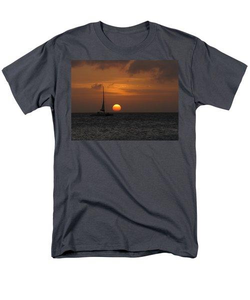 Men's T-Shirt  (Regular Fit) featuring the photograph Sailing Away by David Gleeson