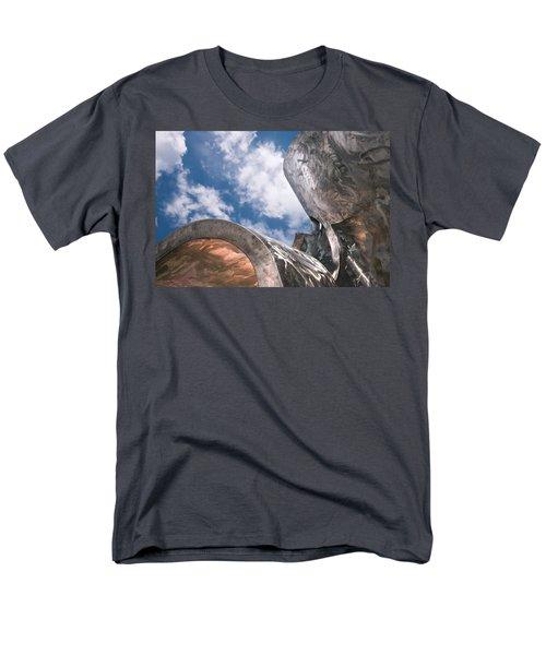 Sculpture And Sky Men's T-Shirt  (Regular Fit) by Tom Gort