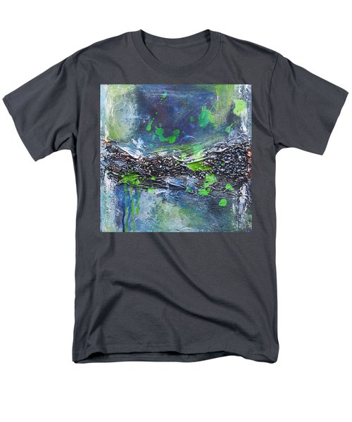 Men's T-Shirt  (Regular Fit) featuring the painting Sea World by Nicole Nadeau