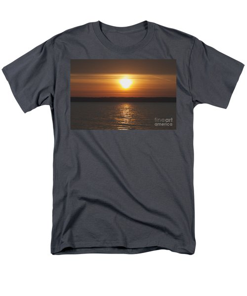 Men's T-Shirt  (Regular Fit) featuring the photograph Seneca Lake Sunrise by William Norton
