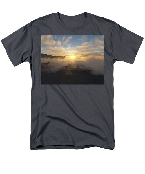 Sierra Sunrise Men's T-Shirt  (Regular Fit) by Mark Greenberg