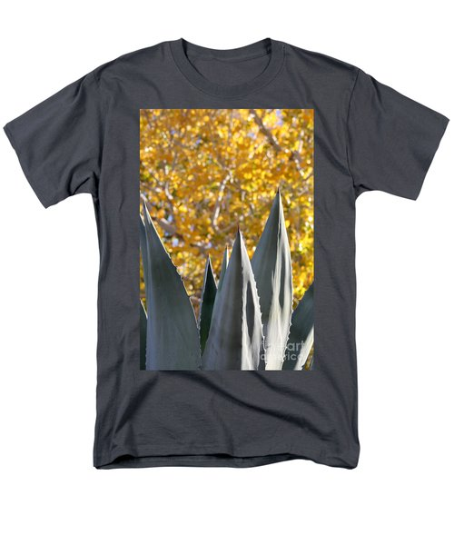 Spikes And Leaves Men's T-Shirt  (Regular Fit) by Alycia Christine