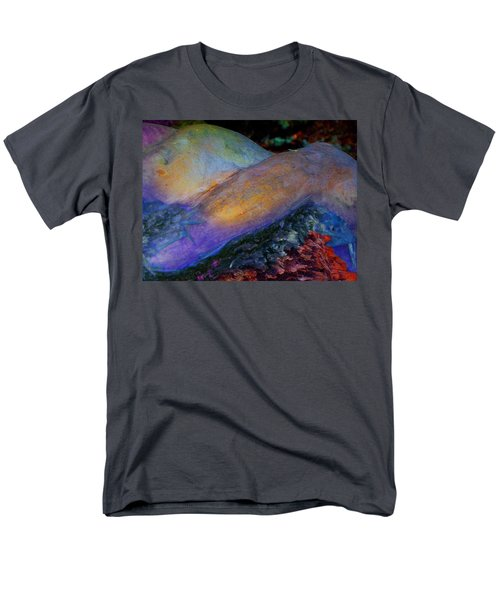 Men's T-Shirt  (Regular Fit) featuring the digital art Spirit's Call by Richard Laeton