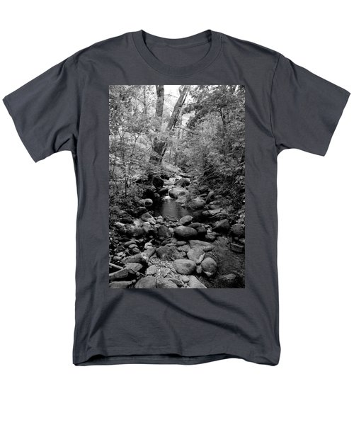 Men's T-Shirt  (Regular Fit) featuring the photograph Spring Creek by Kathleen Grace