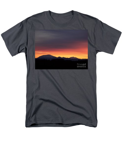 Men's T-Shirt  (Regular Fit) featuring the photograph Sunrise 3 by Chalet Roome-Rigdon