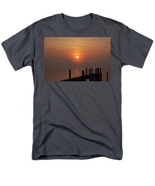 Sunrise On The River Men's T-Shirt  (Regular Fit) by Randy J Heath