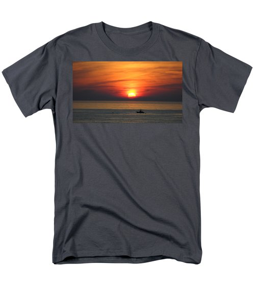Men's T-Shirt  (Regular Fit) featuring the photograph Sunrise Over Gyeng-po Sea by Kume Bryant