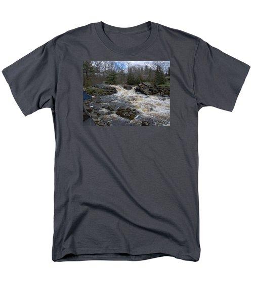 Surry Falls Men's T-Shirt  (Regular Fit) by Francine Frank