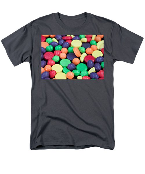 Men's T-Shirt  (Regular Fit) featuring the photograph Sweet Candy Galore  by Sherry Hallemeier