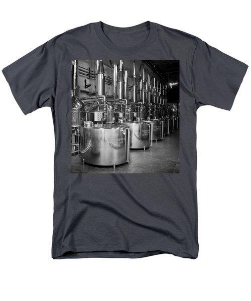 Tequilera S.s. Distillation Tanks Men's T-Shirt  (Regular Fit) by Lynn Palmer