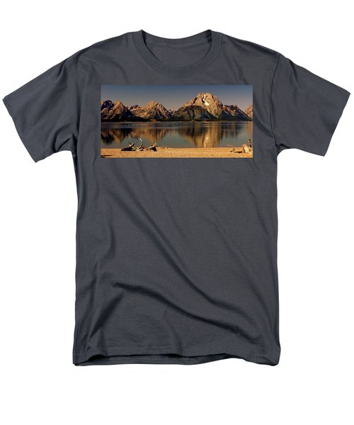 Men's T-Shirt  (Regular Fit) featuring the photograph Teton Panoramic by Marty Koch