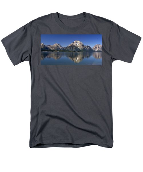 Men's T-Shirt  (Regular Fit) featuring the photograph Teton Panoramic View by Marty Koch