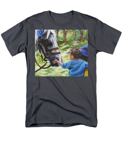 Men's T-Shirt  (Regular Fit) featuring the painting Thank You's by Lori Brackett