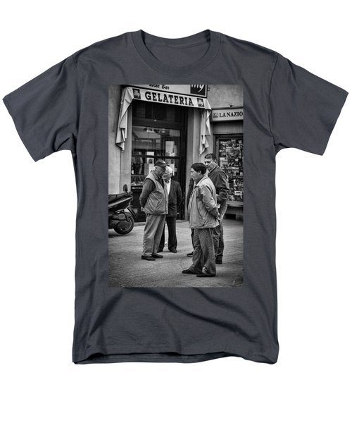 Men's T-Shirt  (Regular Fit) featuring the photograph The Conference by Hugh Smith