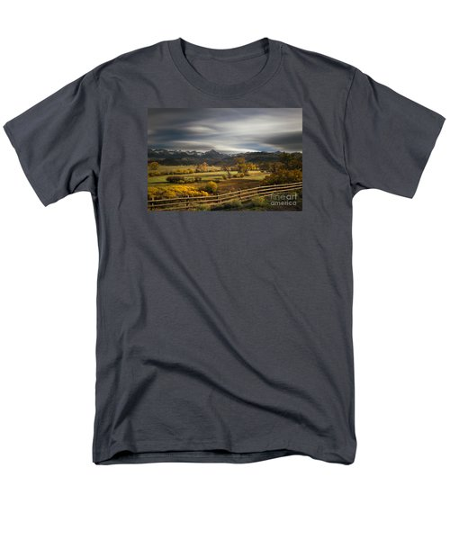 The Dallas Divide Men's T-Shirt  (Regular Fit) by Keith Kapple