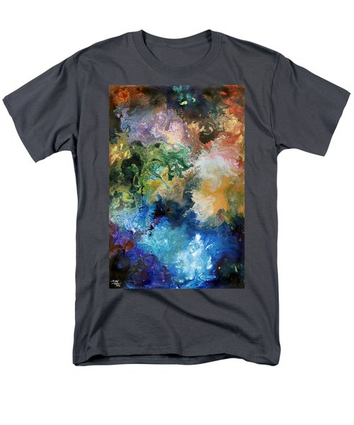 The Great Diversity Men's T-Shirt  (Regular Fit) by Sally Trace