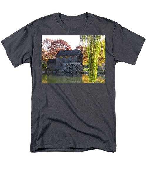 Men's T-Shirt  (Regular Fit) featuring the photograph The Millhouse by Julia Wilcox