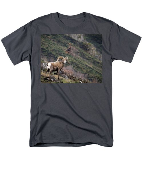 Men's T-Shirt  (Regular Fit) featuring the photograph The Overlook by Steve McKinzie