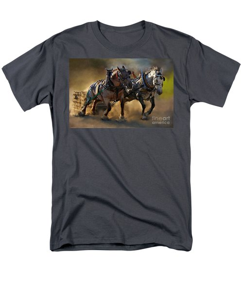 Men's T-Shirt  (Regular Fit) featuring the photograph The Power Of Two by Davandra Cribbie