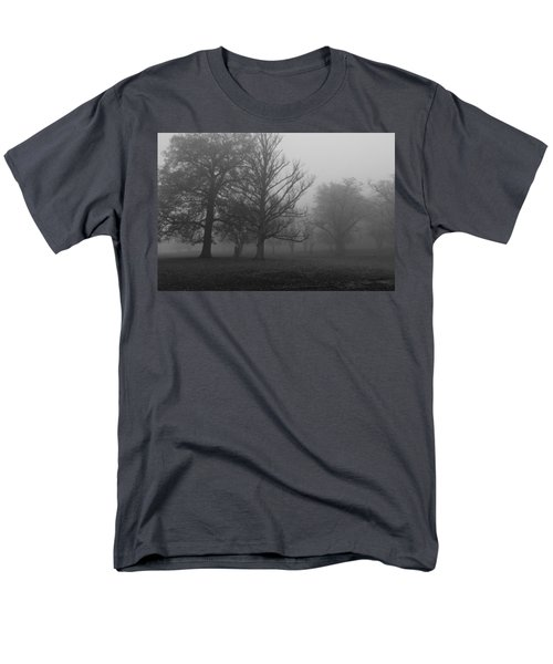 Men's T-Shirt  (Regular Fit) featuring the photograph Trees And Fog by Maj Seda