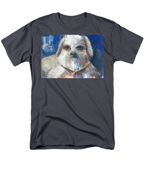 Men's T-Shirt  (Regular Fit) featuring the painting Trouble by Bernadette Krupa
